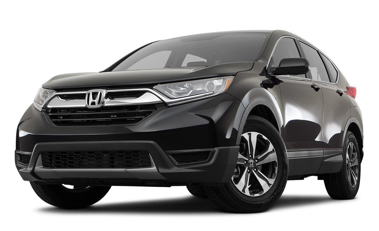 2017 Honda CR-V LX Front Driver Side Angle Photo in Black