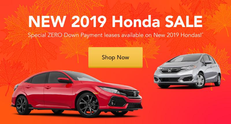 New 2019 Honda Sale at Jay Wolfe Honda.