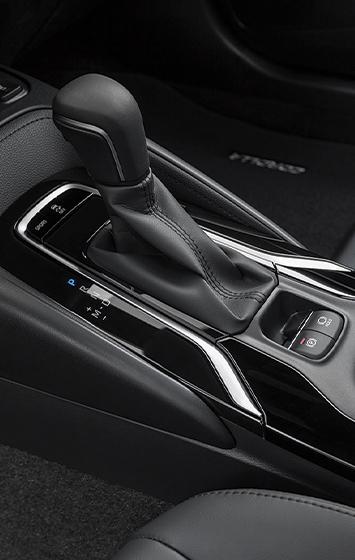 2020 Corolla XSE interior