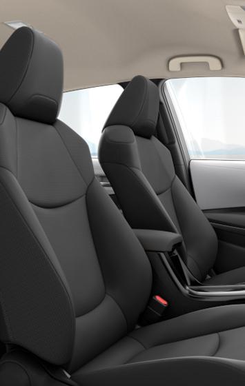 2020 Corolla L interior