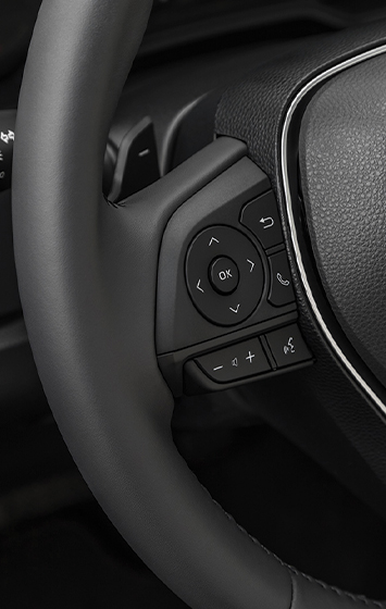 2020 Corolla SE interior