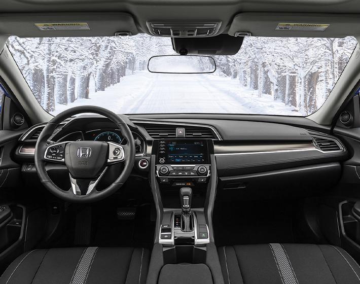 2020 Civic EX Interior
