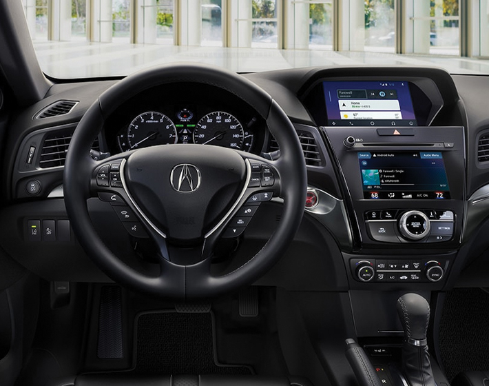 2020 ILX Technology interior