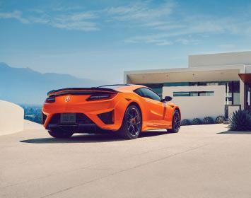 2020 Acura NSX Thermal Orange Pearl