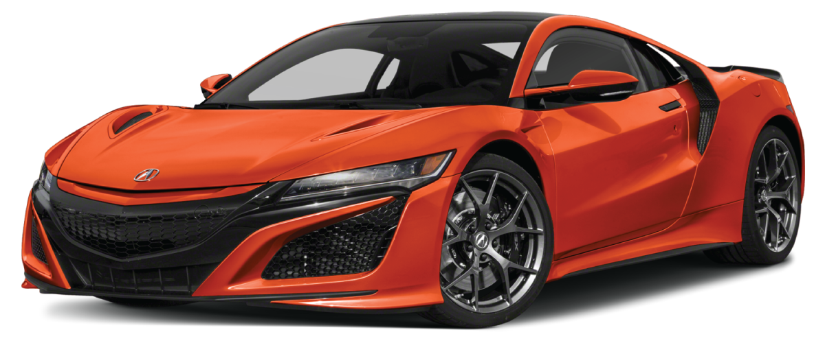 2020 Acura NSX Thermal Orange Pearl