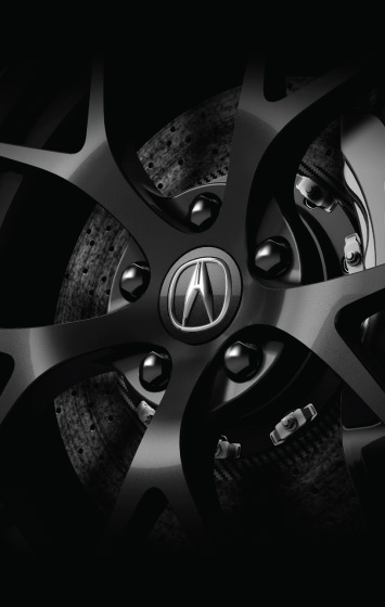 2020 Acura NSX Wheel Close-up