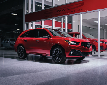 2020 MDX PMC Edition in Valencia Red Pearl
