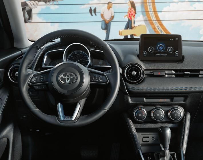 2020 Yaris XLE interior