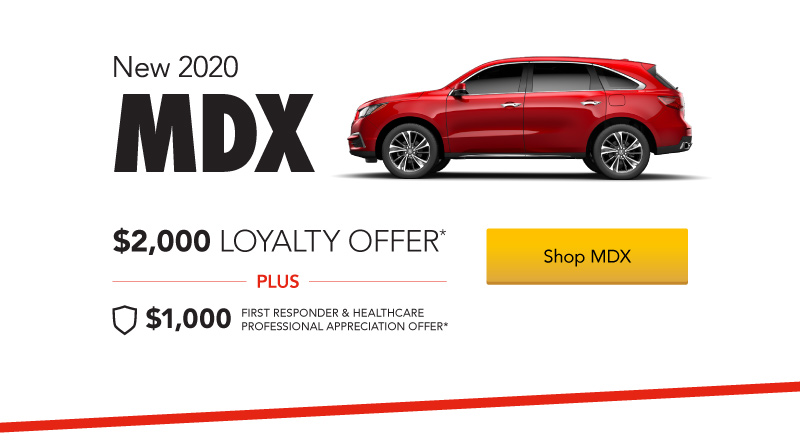 Acura MDX $2,000 Loyalty Offer
