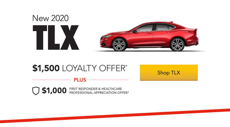 Acura TLX $1,500 Loyalty Offer