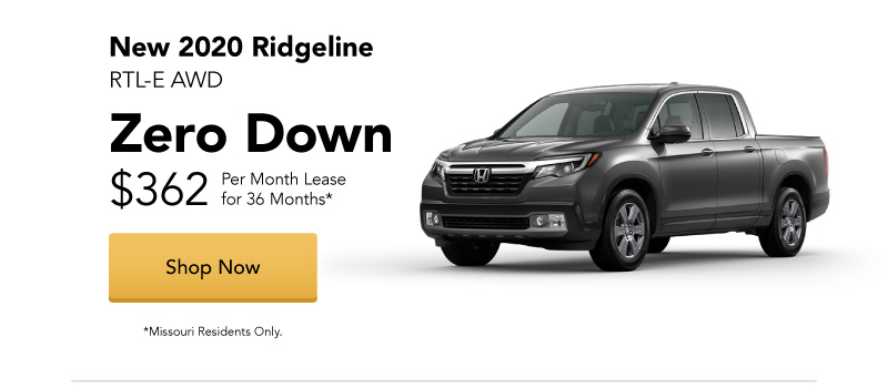 New 2020 Ridgeline RTL-E AWD Lease