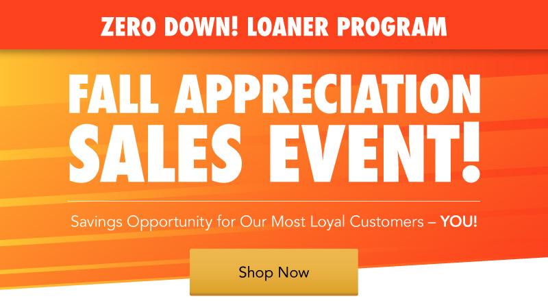 Acura Fall Appreciation Sales Event