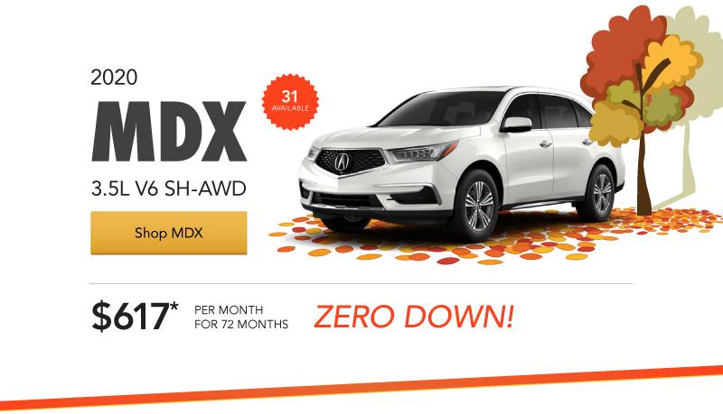Acura MDX Loaner Special