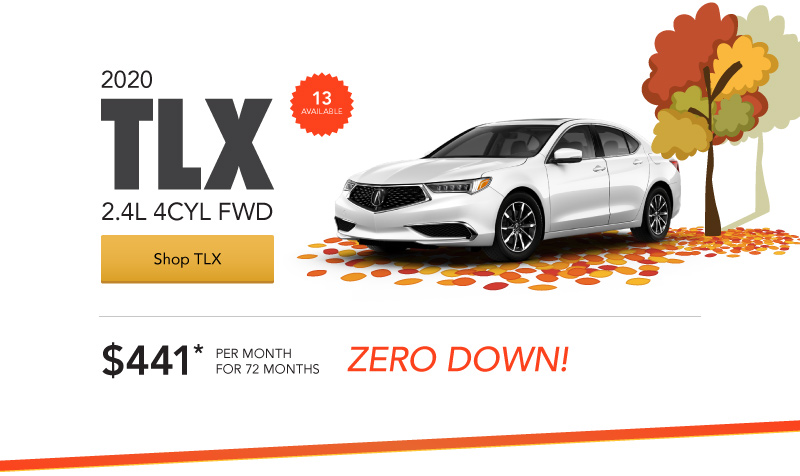 Acura TLX Loaner Special