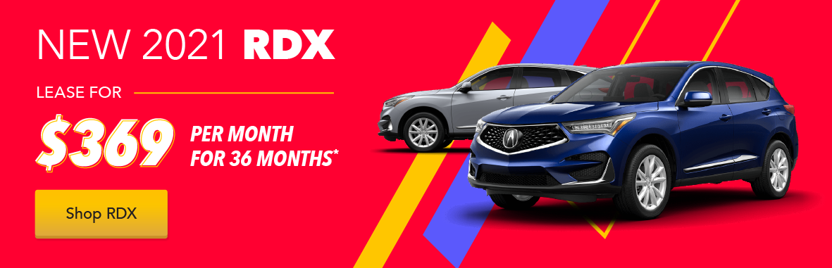 Acura RDX Loyalty / Conquest Lease Offer