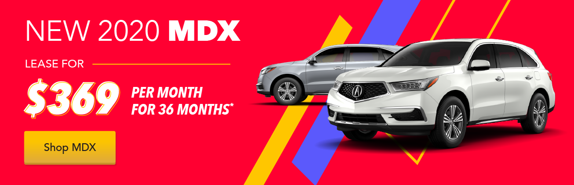 Acura MDX Loyalty / Conquest Lease Offer